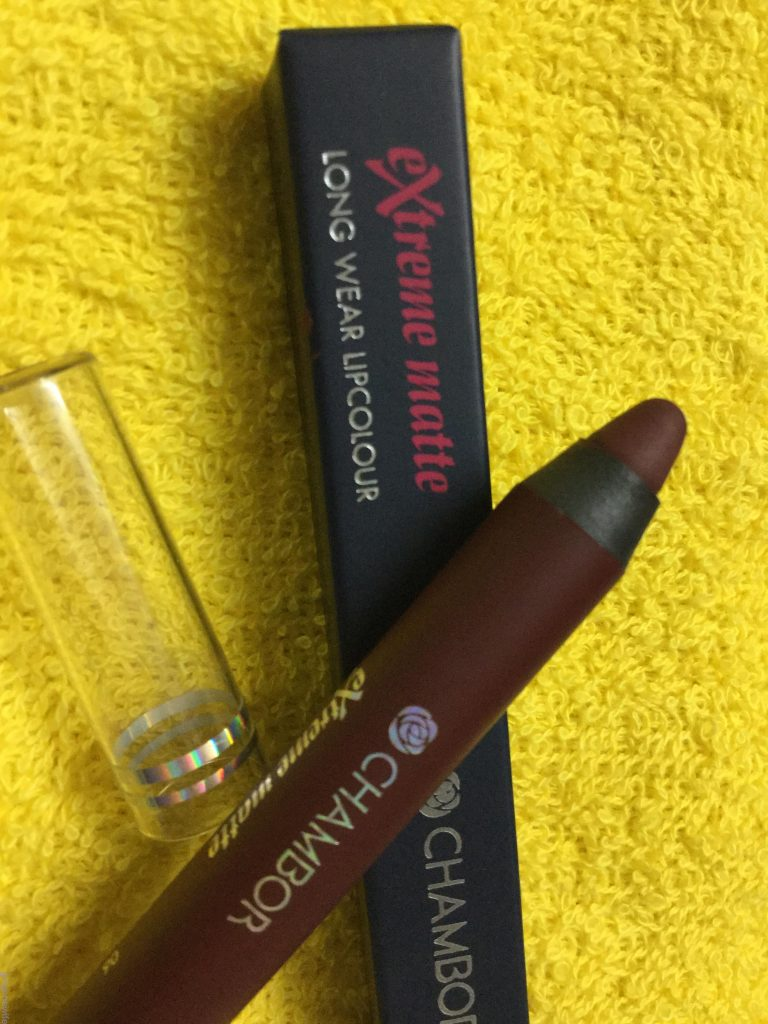 Chambor Extreme Matte Long Wear Lipcolour: Review