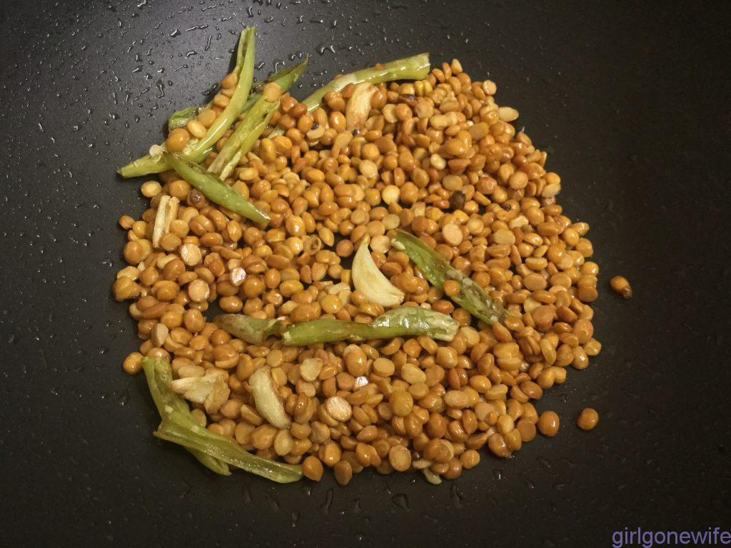 Bengal gram chutney