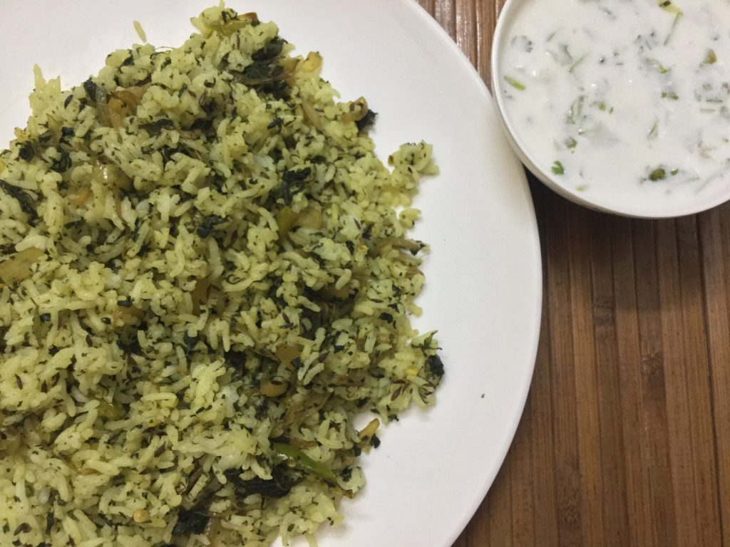 Pudina Rice Recipe: How to make quick and easy Pudina Rice.