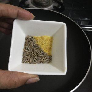 Pudina Rice Recipe - Step 1