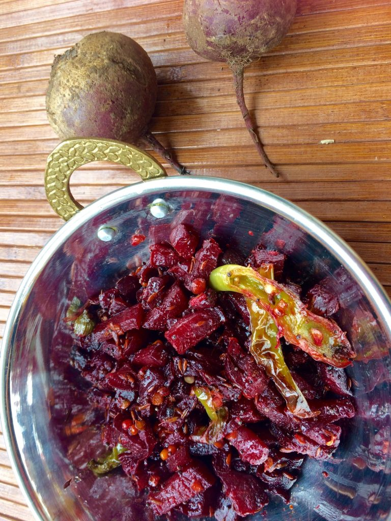 Beetroot stir fry: Quick and healthy beetroot recipe