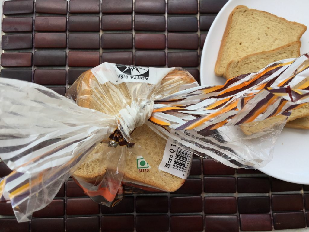 Trick to store bread packet