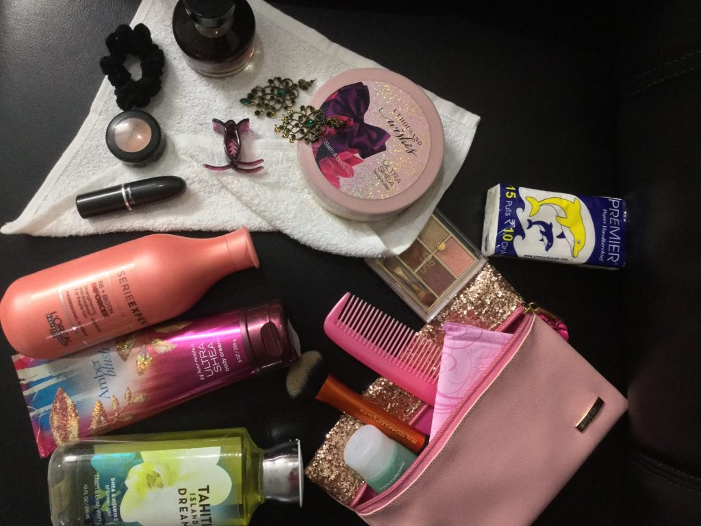 Bride: Personal Things to pack before the big day.