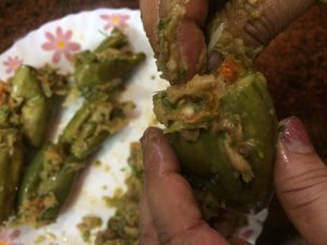 Stuffed Parwal Curry -13