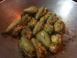 Stuffed Parwal Curry -16