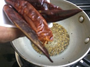 Moong Dal Chutney|Pesara pappu pachadi - 6